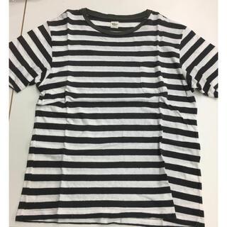 ロンハーマン(Ron Herman)のロンハーマン   ポケット付きダメージポーターTシャツ 白黒(Tシャツ/カットソー(半袖/袖なし))