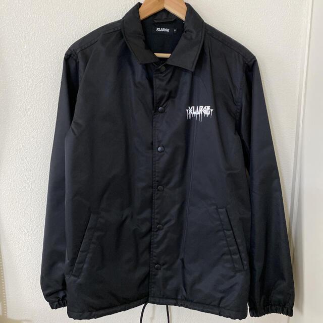 XLARGE(エクストララージ)のXLARGE コーチジャケット D*Faceコラボ Mサイズ メンズのジャケット/アウター(ナイロンジャケット)の商品写真