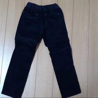 ユニクロ(UNIQLO)の黒 コーデュロイ パンツ ズボン 100㎝(パンツ/スパッツ)