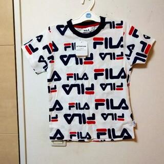 FILA - FILA フィラ 130cm ロゴ入り半袖Tシャツ 新品未使用品
