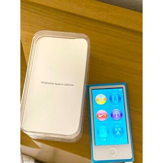 アイポッド(iPod)のiPod nano 第7世代(ポータブルプレーヤー)