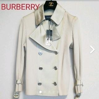 BURBERRY - 【新品未使用タグ付き】BURBERRY LONDON ニット ジャケット