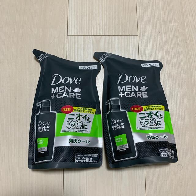Unilever(ユニリーバ)のダヴメン+ケア ボディウォッシュエクストラフレッシュ 2袋 コスメ/美容のボディケア(ボディソープ/石鹸)の商品写真