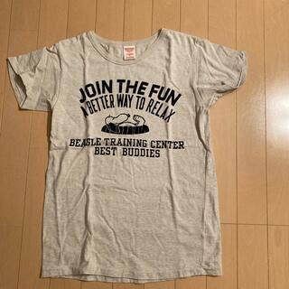 デニムダンガリー(DENIM DUNGAREE)のデニム&ダンガリー スヌーピーTシャツ(Tシャツ(半袖/袖なし))