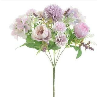 ❗camellia様専用❗フェイクフラワー 二点セット紫&ピンク系(その他)