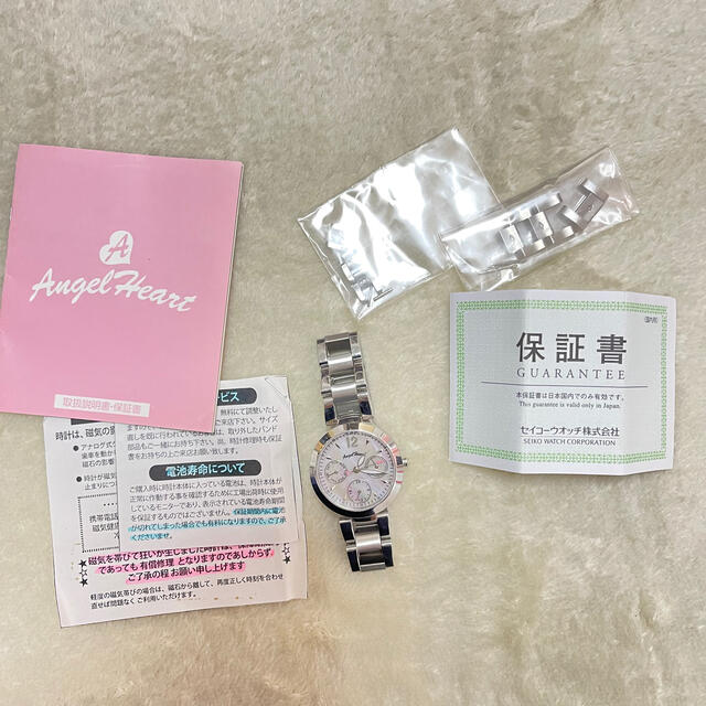 Angel Heart(エンジェルハート)のエンジェルハート❤︎腕時計 レディースのファッション小物(腕時計)の商品写真