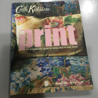 Cath Kidston - キャスキッドソン 洋書 英語 本 プリント インテリア デザイン