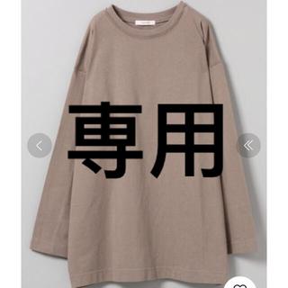 ジーナシス(JEANASIS)のジーナシス BASICロンT JEANASiS カットソー Tシャツ(Tシャツ(長袖/七分))