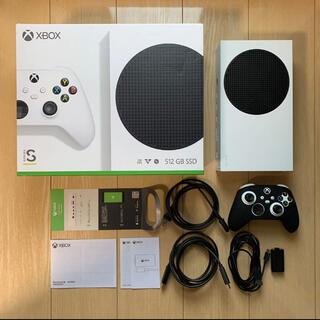 エックスボックス(Xbox)のXbox Series S コントローラー用充電式バッテリー付 中古美品(家庭用ゲーム機本体)