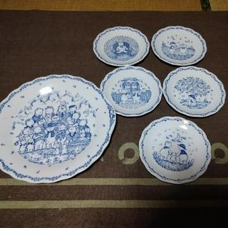 NIKKO テディベア ケーキ皿のセット ニッコーテーブルウェア