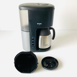 タイガー(TIGER)のタイガー マイコンコーヒーメーカー カフェブラック 8杯用 ACE-M080KQ(コーヒーメーカー)