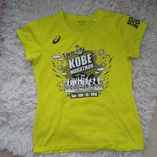 アシックス(asics)の神戸マラソン参加Tシャツ(ウェア)