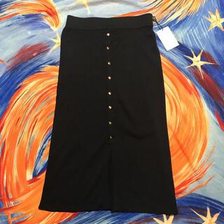 ラウンジドレス(Loungedress)のラウンジドレス ニットタイトスカート(ひざ丈スカート)