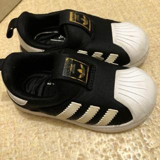 アディダス(adidas)のキッズ アディダス スーパースター(スリッポン)