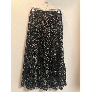 AFRICATARO - ロングスカート プリーツスカート