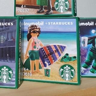 スターバックスコーヒー(Starbucks Coffee)の韓国スタバ★ プレイモービル サーファーGRACE(その他)