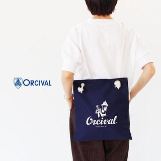 オーシバル(ORCIVAL)のオーチバル トートバッグ マリン 新品(トートバッグ)