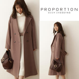 PROPORTION BODY DRESSING - 【即完売】PROPORTION BODY DRESSING チェスターコート 茶