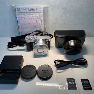Nikon - Nikon ミラーレス一眼 Nikon1 J5 レンズキットJ5WLKSL