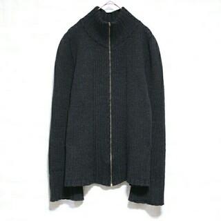 イザベルマラン(Isabel Marant)の美品 ISABEL MARANT ジャケット ニット ジップ アルパカ ウール(ニット/セーター)
