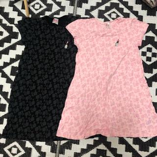 GU - GU☆Tシャツ☆ワンピース☆2点セット
