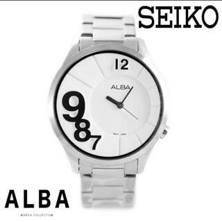 アルバ(ALBA)の【超希少】SEIKO by ALBA ユニークデザイン 新品正規品(腕時計)