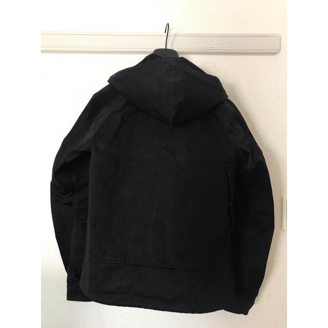COMOLI(コモリ)のten c テンシー アノラック 46 ブラック 黒 メンズのジャケット/アウター(ダウンジャケット)の商品写真