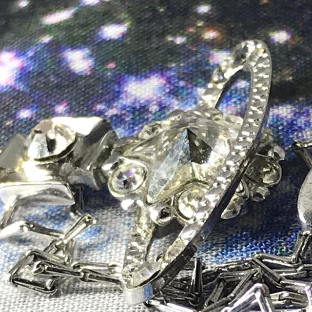 Vivienne Westwood(ヴィヴィアンウエストウッド)のヴィヴィアン スター シルバー ネックレス レディースのアクセサリー(ネックレス)の商品写真