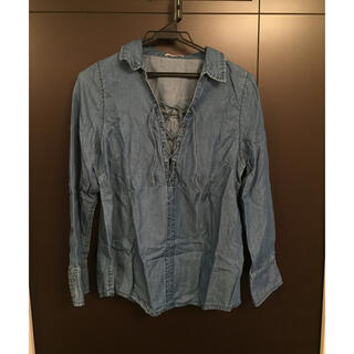 リゼクシー(RESEXXY)のデニムシャツ RESEXXY フリーサイズ(シャツ/ブラウス(長袖/七分))