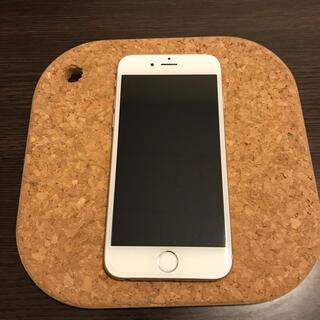 アップル(Apple)のiPhone 6 Silver 64GB(スマートフォン本体)