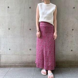 シップスフォーウィメン(SHIPS for women)のPrefer SHIPS:フラワープリントマーメイドスカート(ロングスカート)