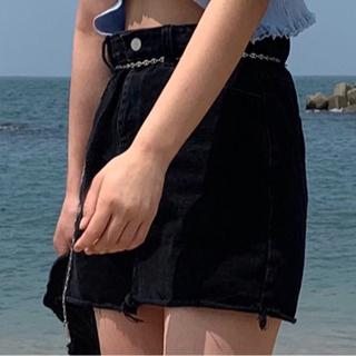 スタイルナンダ(STYLENANDA)の韓国 デニム スカート(ミニスカート)