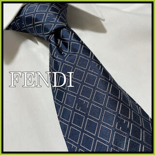 FENDI - 【美品】FENDI Fロゴ ネクタイ