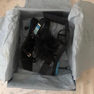 プラダ(PRADA)のPRADA プラダ  サンダル ミュール シューズ 靴(ミュール)