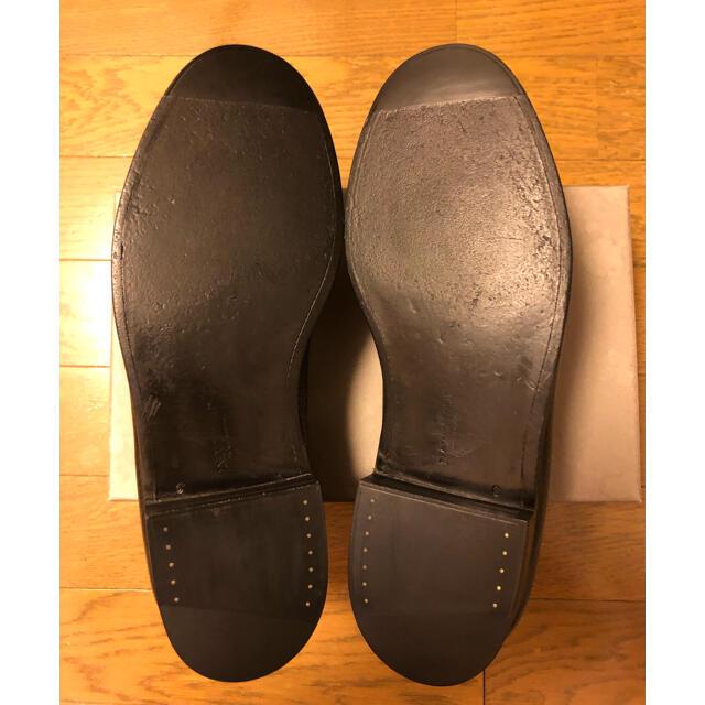 J.M. WESTON(ジェーエムウエストン)のj.mウエストン180 シグニチャーローファー 6C シボカーフ ブラック メンズの靴/シューズ(ドレス/ビジネス)の商品写真