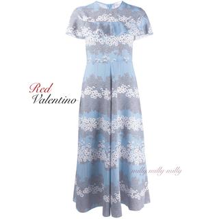 レッドヴァレンティノ(RED VALENTINO)のご成約済み♡新品タグ付【RED VALENTINO】2019-20ピオニードレス(ロングワンピース/マキシワンピース)