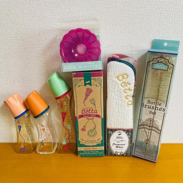 VETTA(ベッタ)のドクターベッタ betta タッセル 哺乳瓶 キッズ/ベビー/マタニティの授乳/お食事用品(哺乳ビン)の商品写真