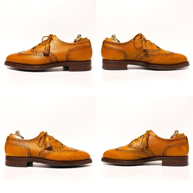 Crockett&Jones(クロケットアンドジョーンズ)の581.CROCKETT&JONES GHILLIE ギリーシューズ 7E メンズの靴/シューズ(ドレス/ビジネス)の商品写真