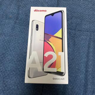 NTTdocomo - docomo Galaxy A21