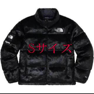 シュプリーム(Supreme)の新品未使用 supreme  TNF faux fur jacket Sサイズ(ダウンジャケット)