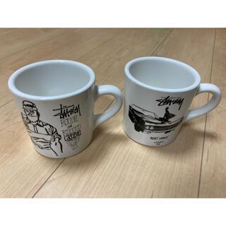 ステューシー(STUSSY)のstussy マグカップ 非売品 25周年 柏(グラス/カップ)