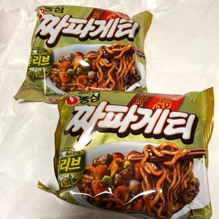 2個 チャパグリ チャパゲティ 韓国 即席 インスタント 簡単 ジャージャー麺(インスタント食品)