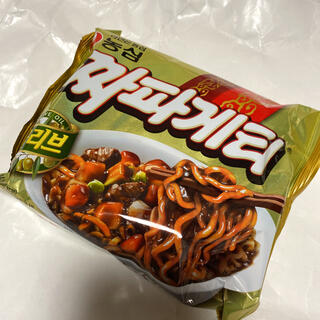 1個 チャパゲティ チャパグリ 韓国 インスタント 即席 ジャージャー麺(インスタント食品)