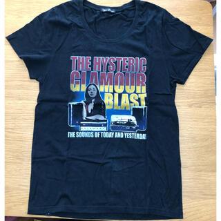 ヒステリックグラマー(HYSTERIC GLAMOUR)のヒステリックグラマー オーバーサイズTシャツ BLACK 美品(Tシャツ/カットソー(半袖/袖なし))