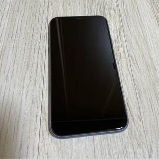 アイフォーン(iPhone)の美品iphone11 64GB パープル simフリー(スマートフォン本体)
