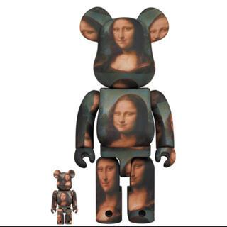 メディコムトイ(MEDICOM TOY)の新品未使用 BE@RBRICK Mona Lisa 100%&400% (その他)