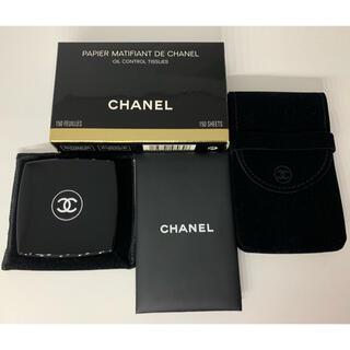 CHANEL - CHANEL シャネル ミラー付き あぶらとり紙 シャドウ セット販売