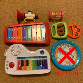ボーネルンド(BorneLund)の知育玩具 楽器 まとめ売り ボーネルンド ベイビーアインシュタイン アンビートイ(楽器のおもちゃ)