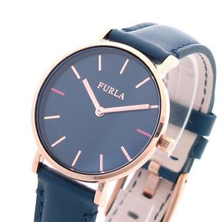 Furla - フルラ FURLA 腕時計 レディース ジャーダ クォーツ ネイビー ブルー