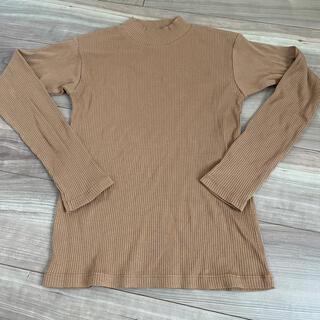 JEANASIS - ジーナシス ブラウン ロングTシャツ 美品